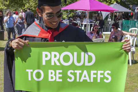 We are proud to be Staffs
